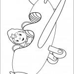 דף צביעה נאדי הטייס