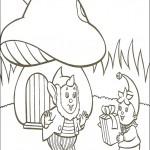 דף צביעה נאדי מגיש מתנה לאוזניון