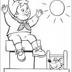 דף צביעה נאדי ועכברון משתעשעים