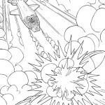 דף צביעה כוח המחץ 40