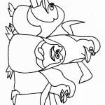 דף צביעה הפינגווינים ממדגסקר 6