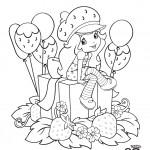 דף צביעה תותית בחברת מתנות ובלונים