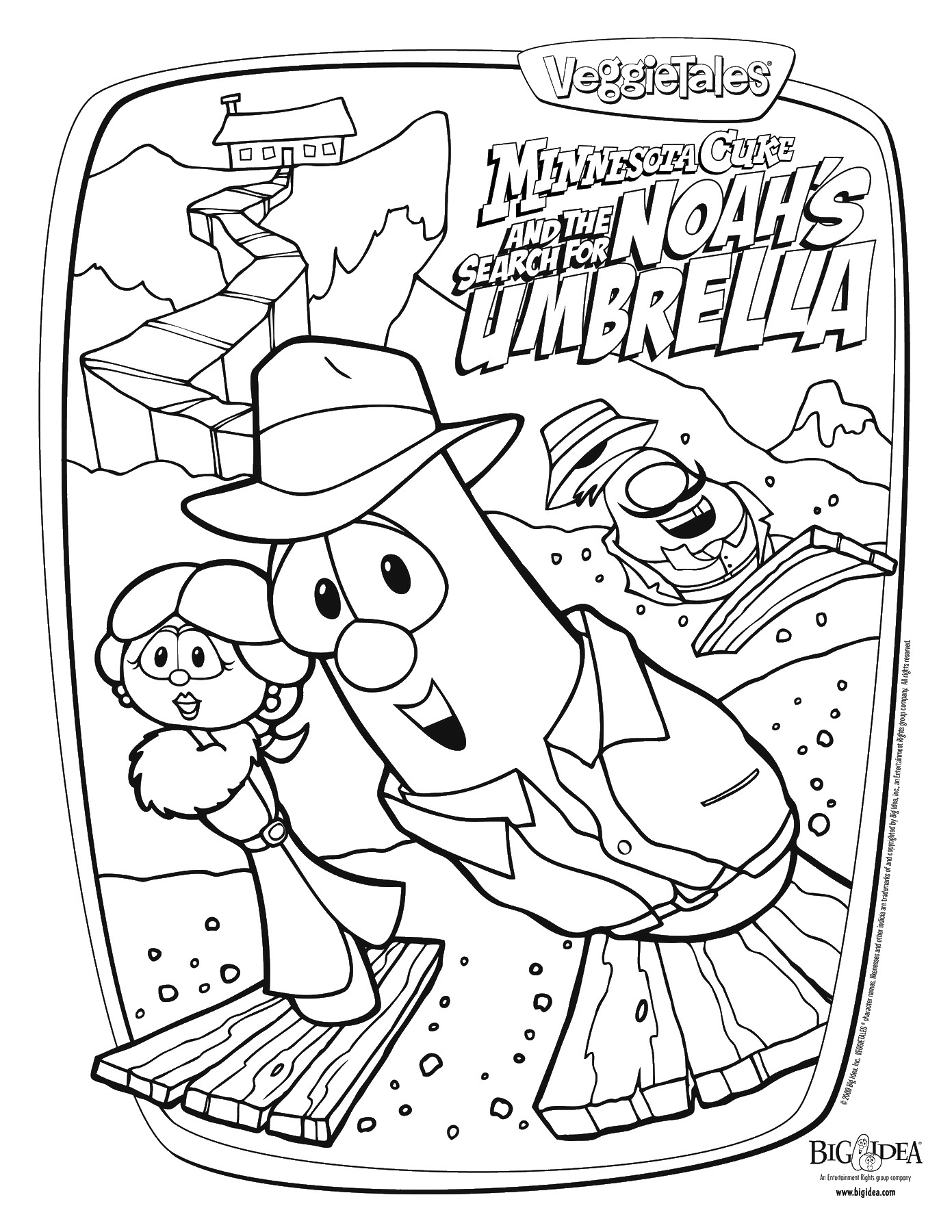HD wallpapers veggie tales coloring book pages