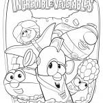 דף צביעה סיפורי ירקות 24