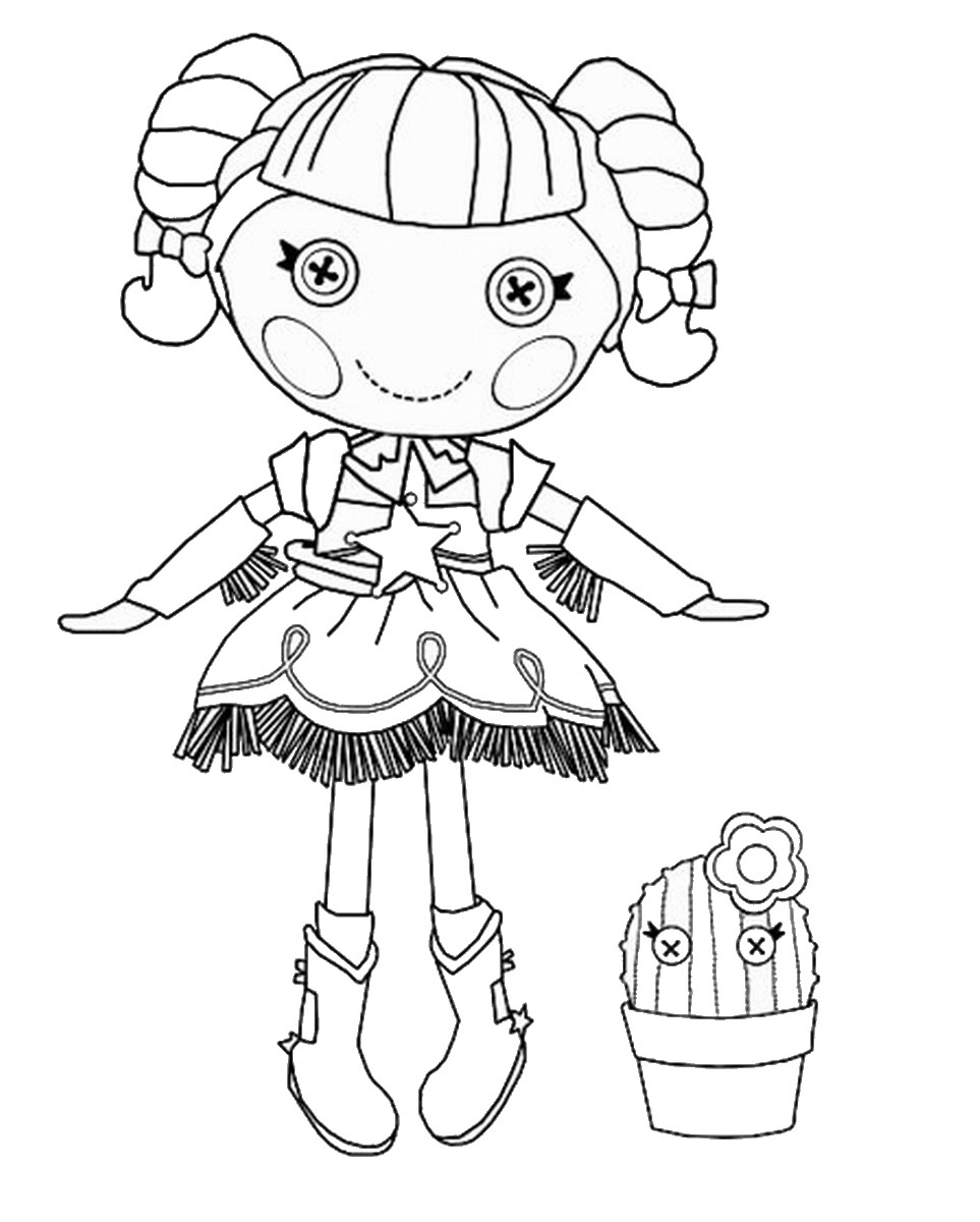 Free Coloring Pages Of Alice Lalaloopsy Lalaloopsy Printable Coloring Pages