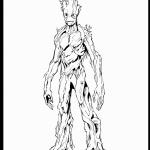 דף צביעה גרוס דמוי העץ