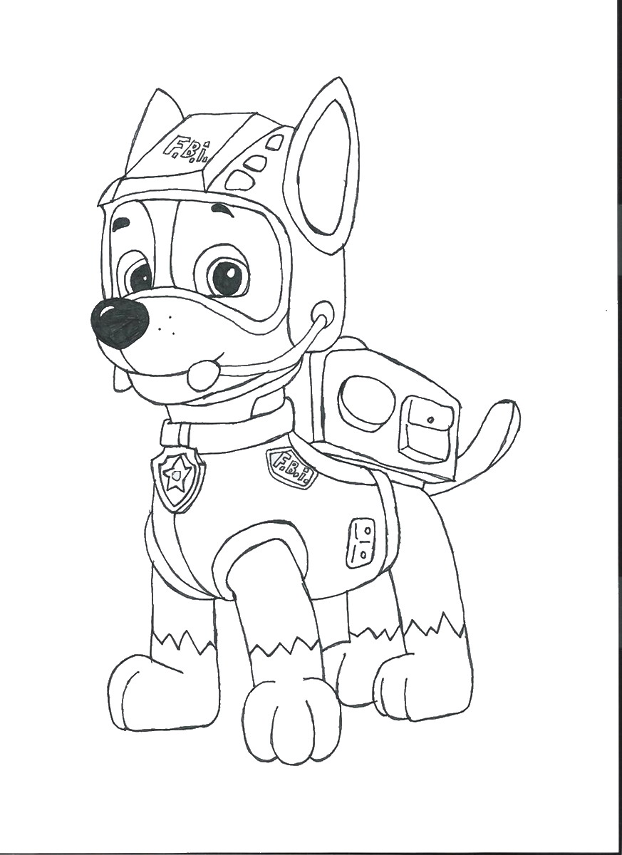 Paw Patrol Lookout Coloring Pages : Free coloring pages of ryder from paw patrol