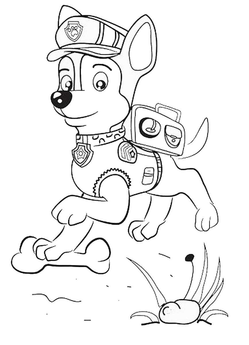Coloring Pages Of Paw Patrol : Jogo paw patrol coloring pages printable quotes jogos