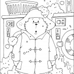 דף צביעה הדוב פדינגטון 11