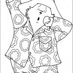 דף צביעה הדוב פדינגטון 12