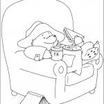 דף צביעה הדוב פדינגטון 14