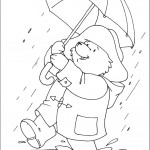 דף צביעה הדוב פדינגטון 15