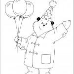 דף צביעה הדוב פדינגטון 16