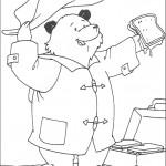 דף צביעה הדוב פדינגטון 19