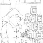 דף צביעה הדוב פדינגטון 20