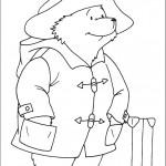 דף צביעה הדוב פדינגטון 25