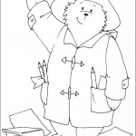 דף צביעה הדוב פדינגטון 4