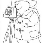 דף צביעה הדוב פדינגטון 5
