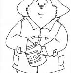 דף צביעה הדוב פדינגטון 9