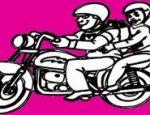 לחצו על דפי הצביעה של אופנועים להגדלה ולהדפסה