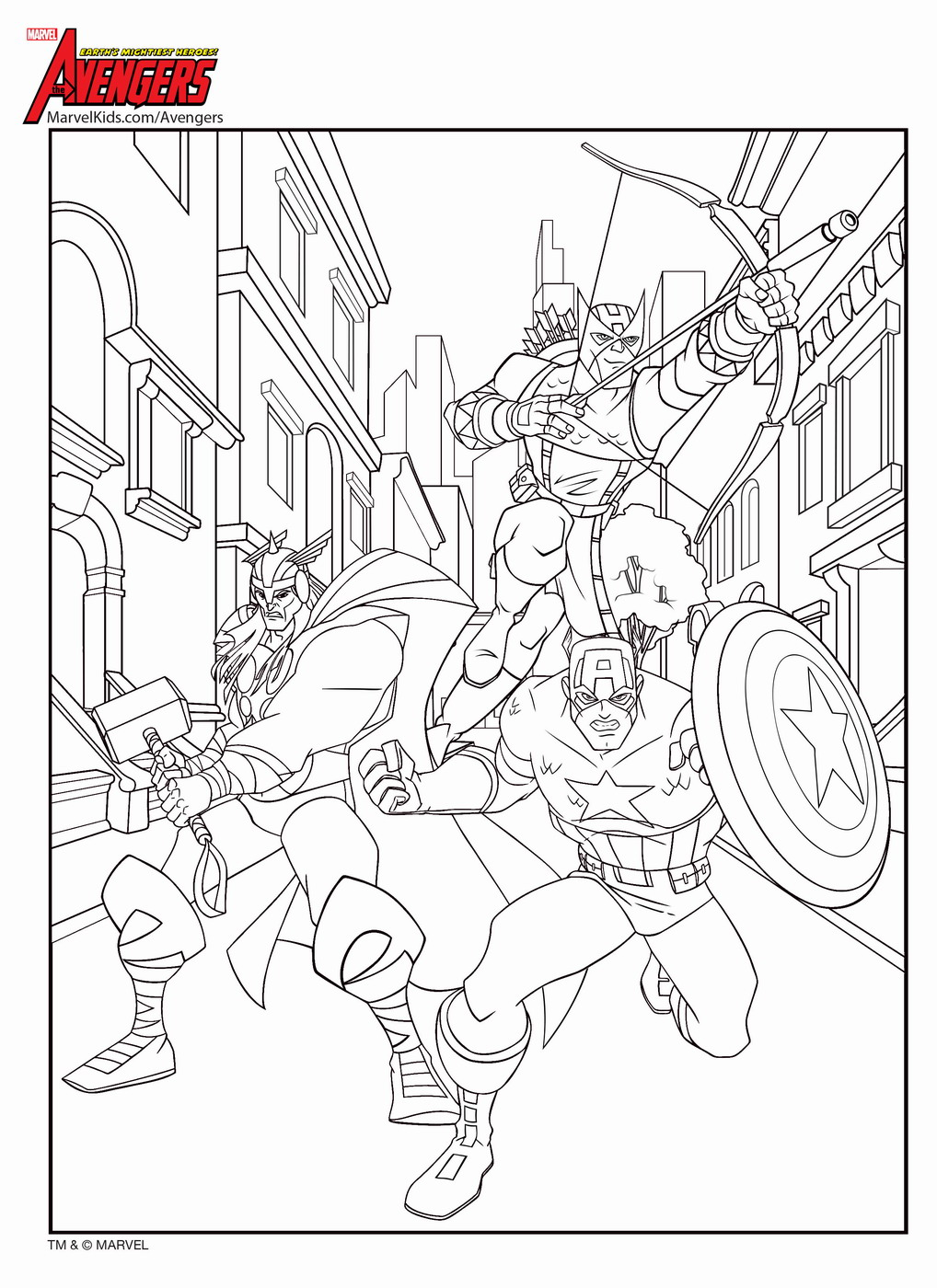 avengers coloring pages a4 audi - photo#6