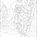 coloriage d'aprs Cezanne