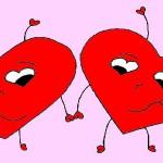 לבבות דפי צביעה