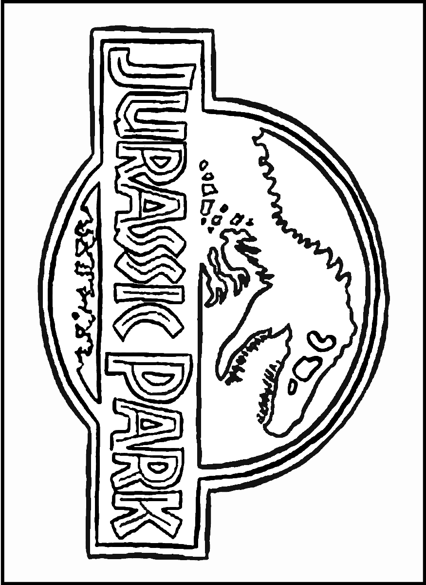 Jurassic World Trex Coloring Pages