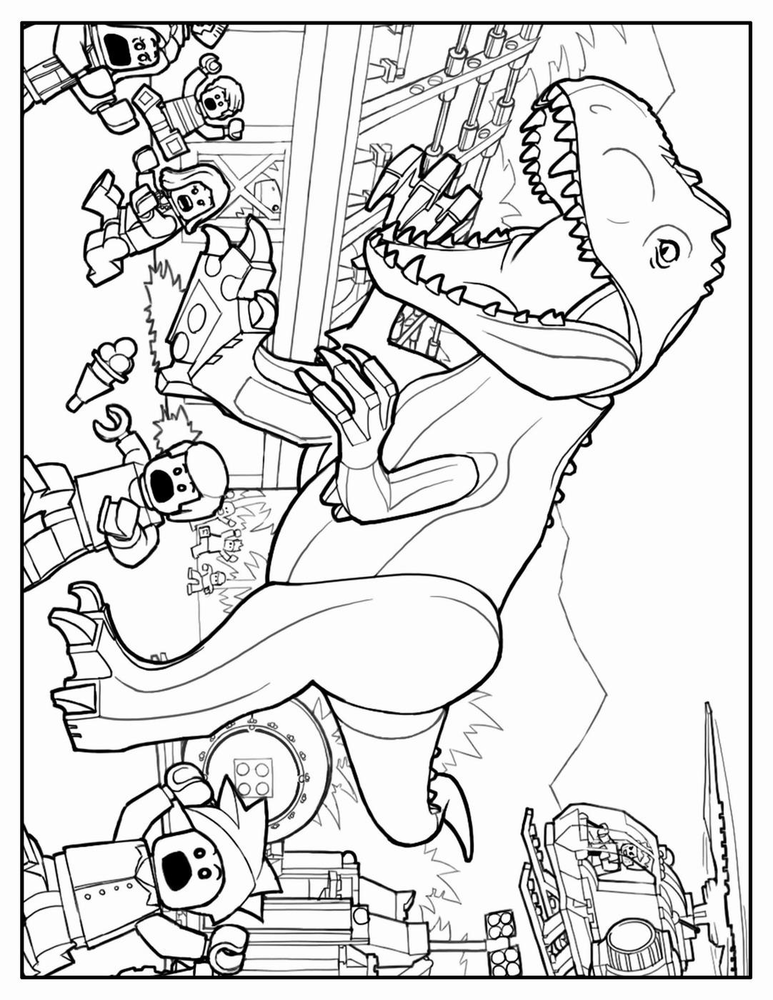 Kleurplaat Jurassic World Dilophosaurus Dilophosaurus ...