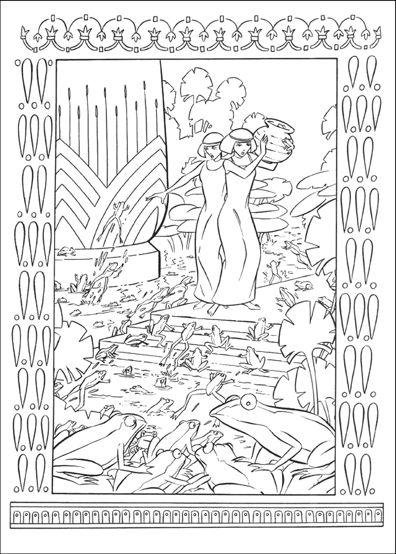 Joseph King Of Dreams Coloring Pages | Coloring Pages