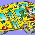 אוטובוס הקסמים דפי צביעה