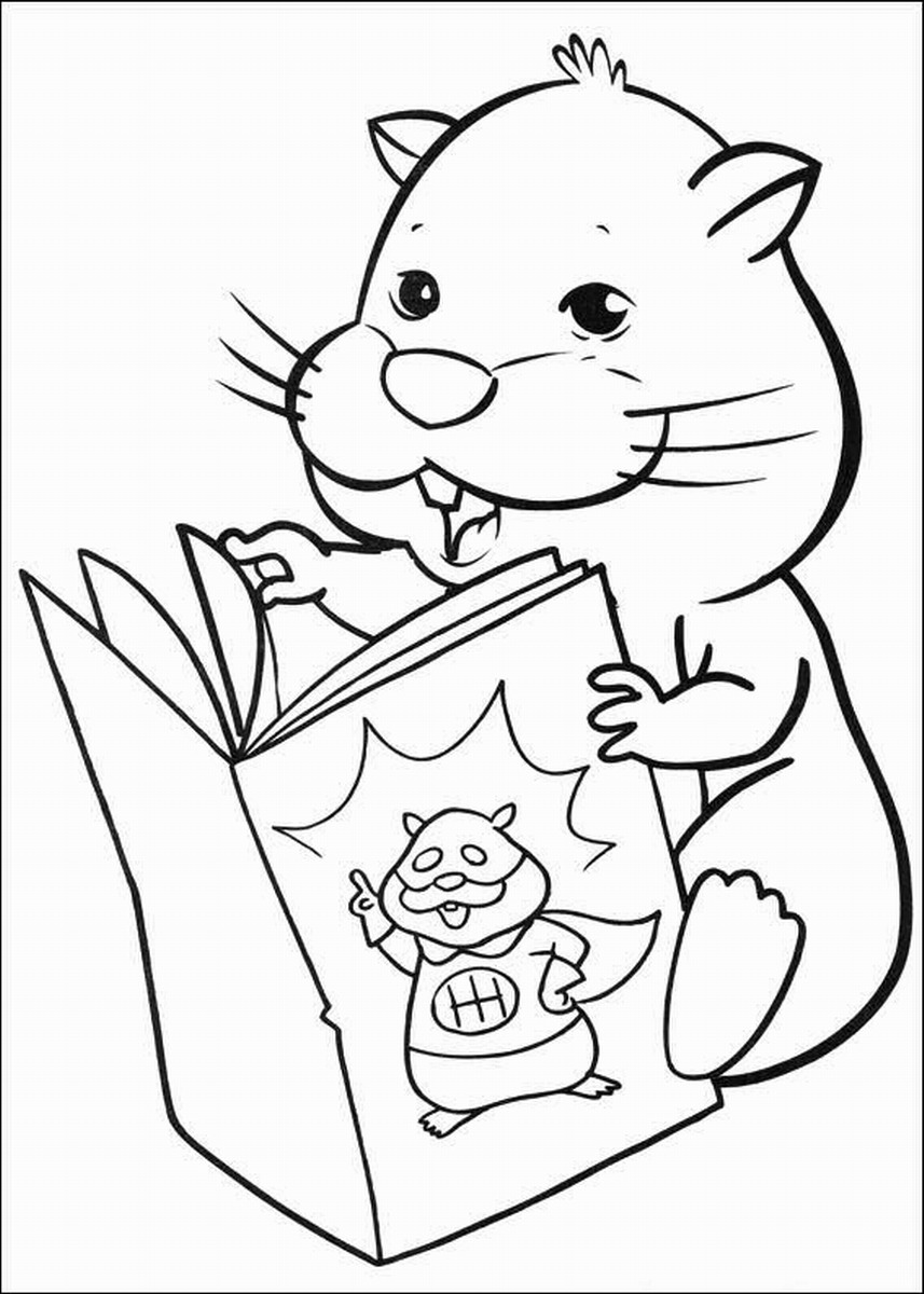Coloring pages zhu zhu pets