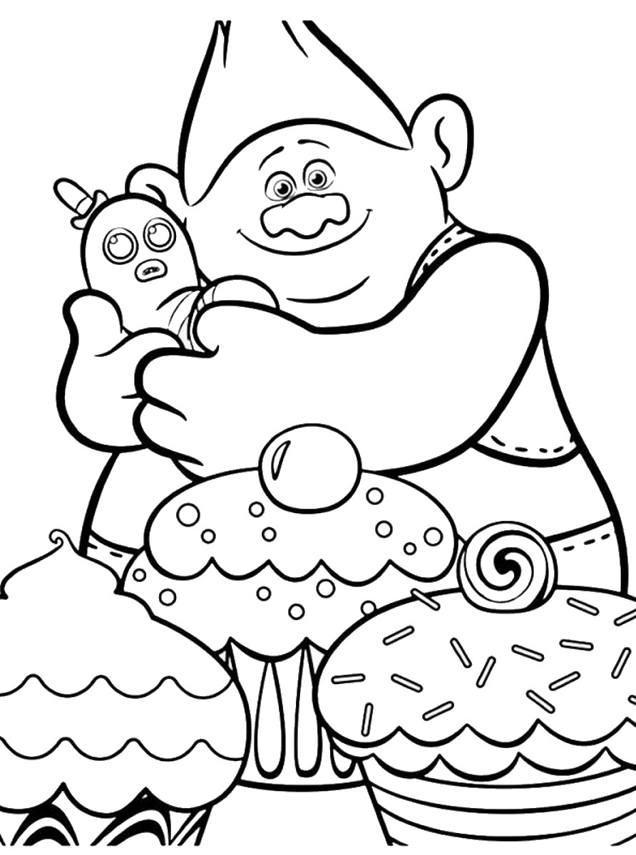 Poppy Trolls Movie 2016 Coloring Coloring Pages