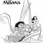 מואנה ומאול המסייע לה במסע