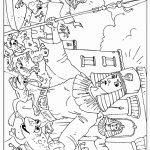 דף צביעה - מכת צפרדעים