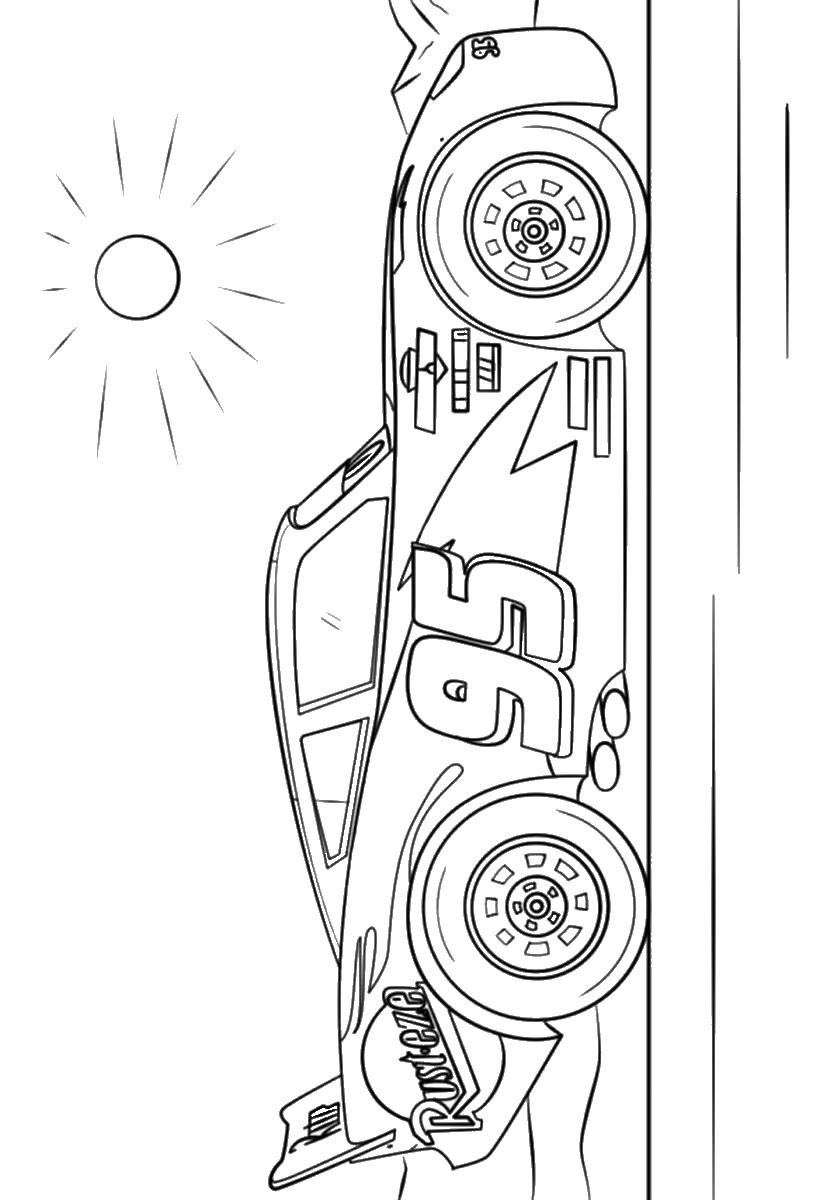 מכוניות 3  דפי צביעה  המבחר הגדול ביותר של דפי צביעה