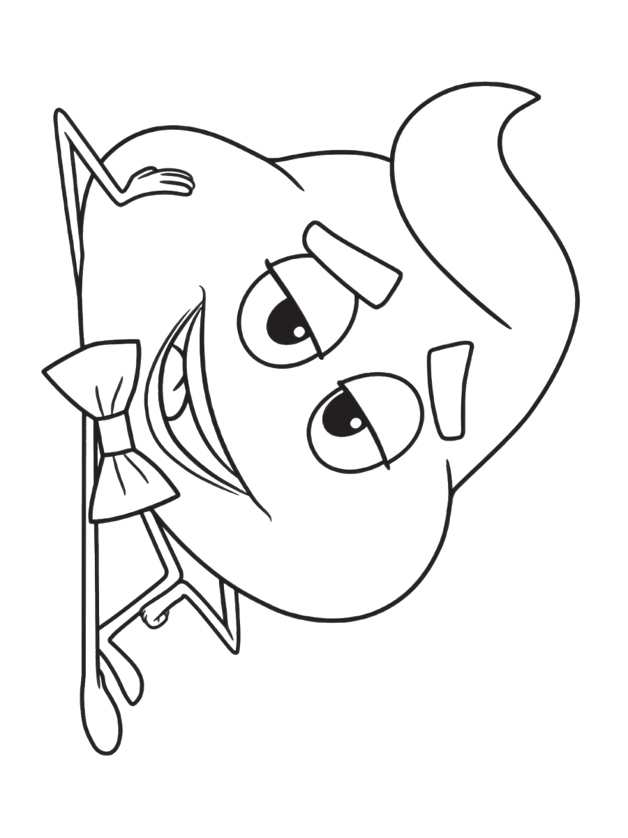 Emojos Coloring Pages